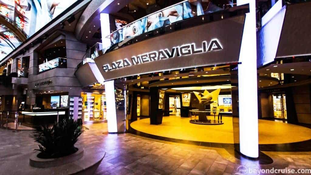 MSC Meraviglia Plaza Meraviglia