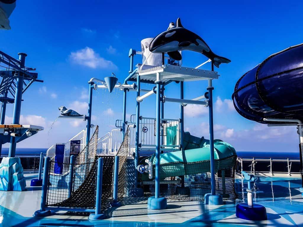 MSC Meraviglia Polar Aquapark Water Playground