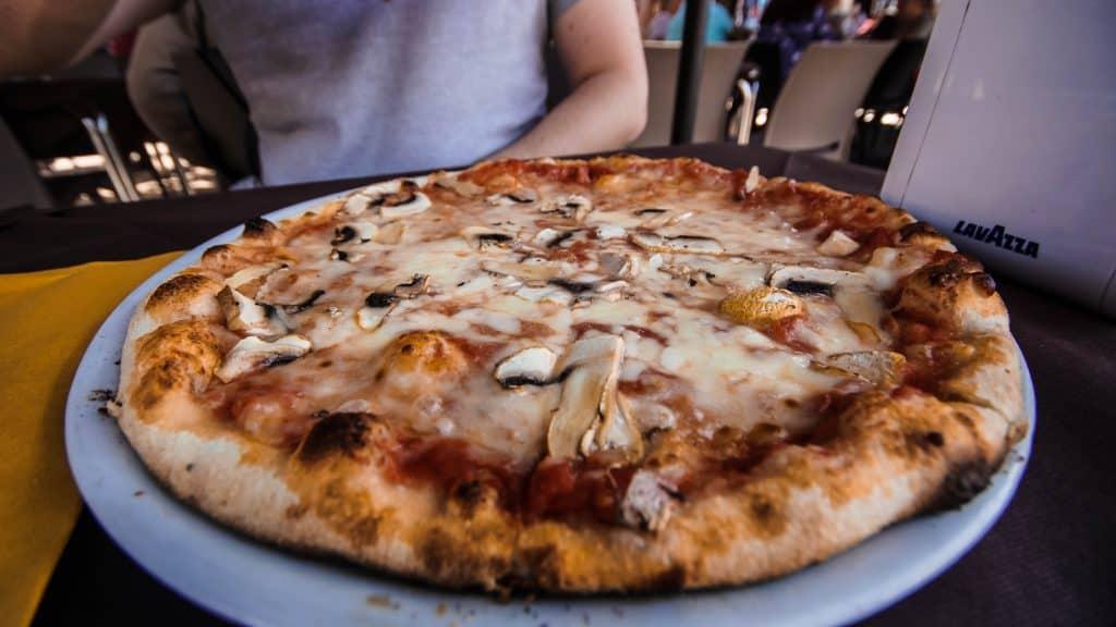 More Funghi Pizza!