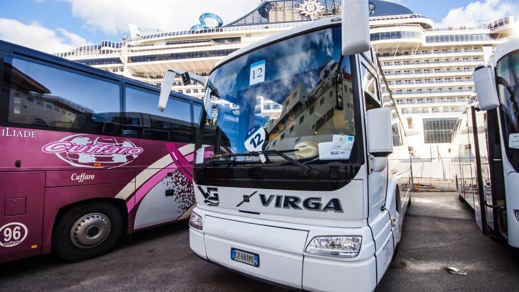 Palermo shore excursion coach