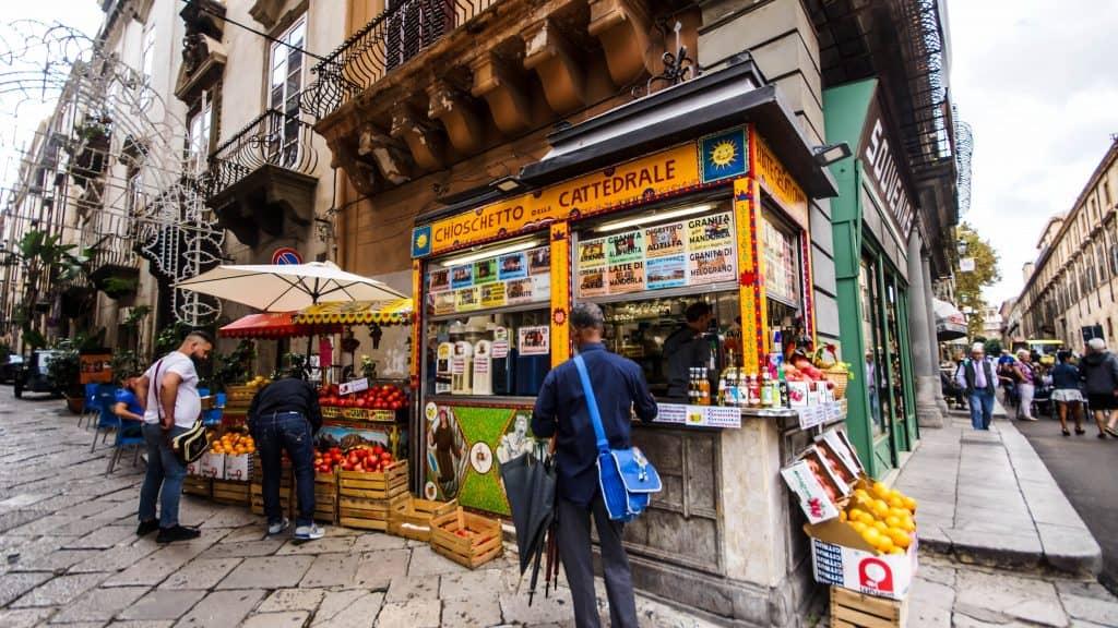 Palermo espresso store
