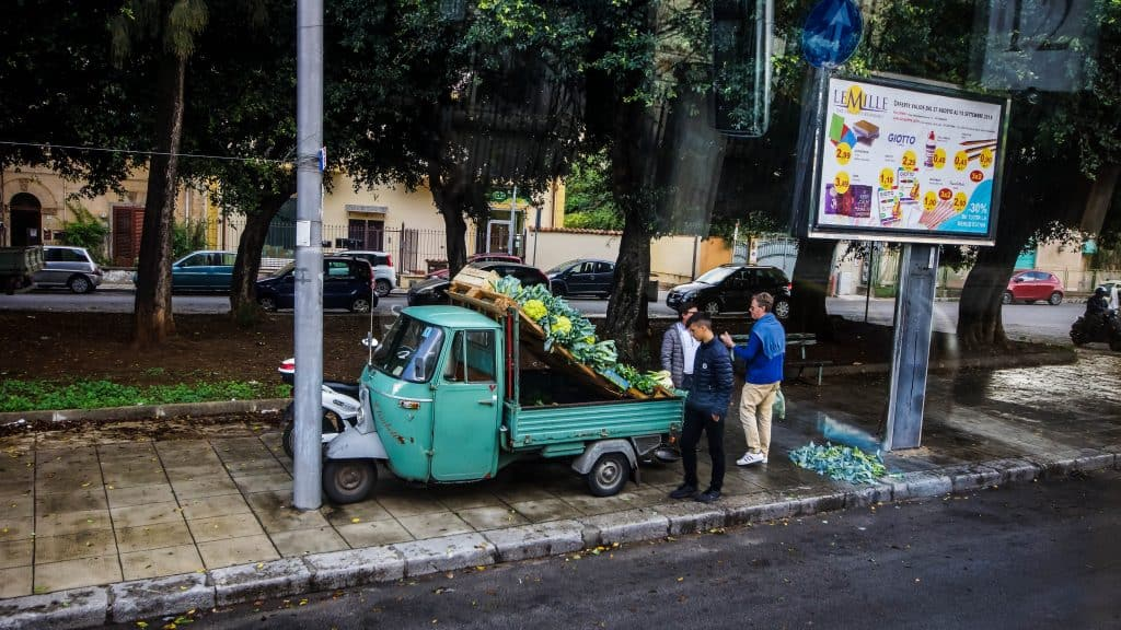 Palermo fruit vendor