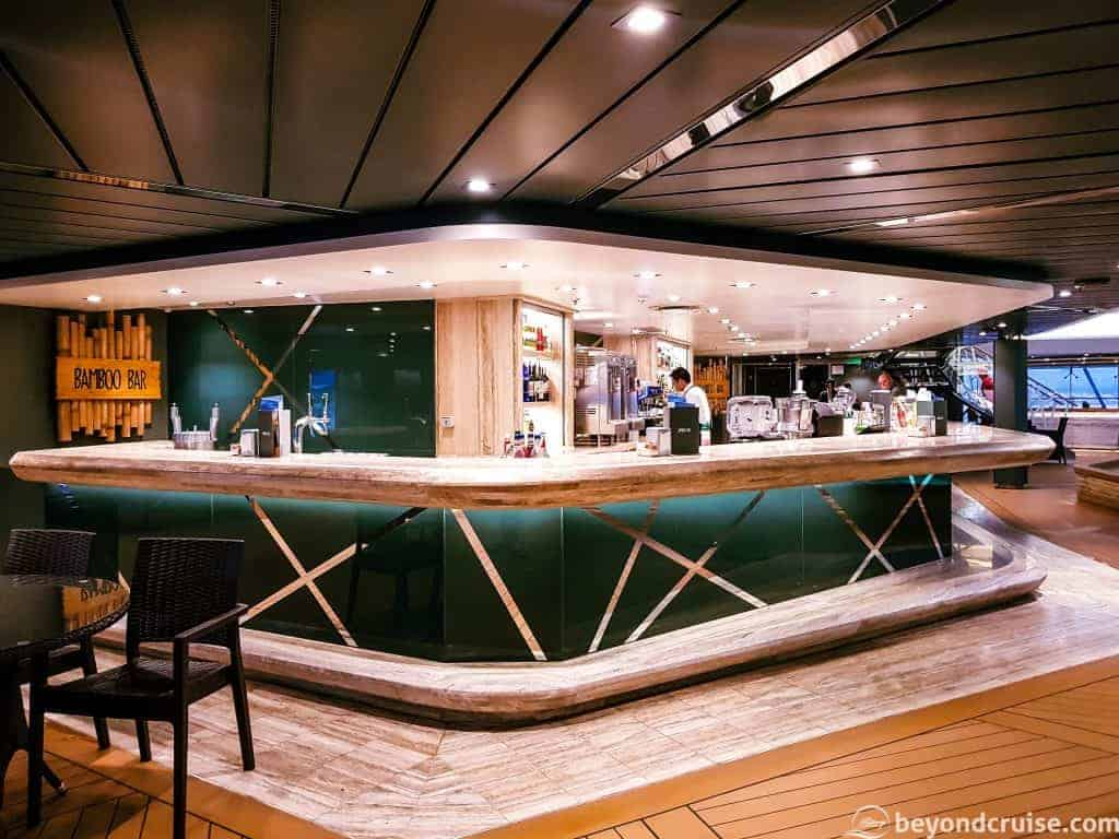 MSC Meraviglia Bamboo Bar