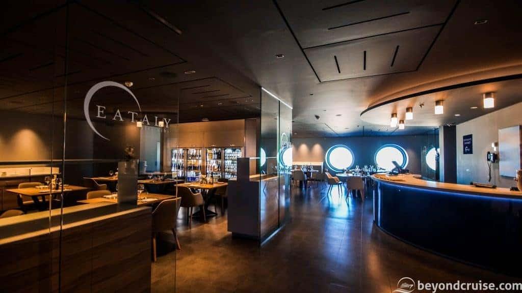 MSC Meraviglia Eataly Ristorante Italiano and Chef's Table