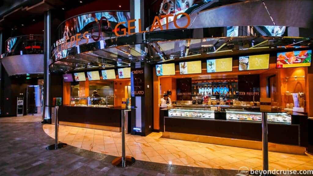 MSC Meraviglia Jean-Philippe Crepes & Gelato Bar
