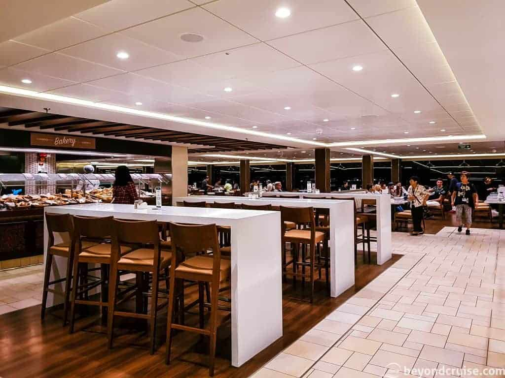 MSC Meraviglia Marketplace Buffet