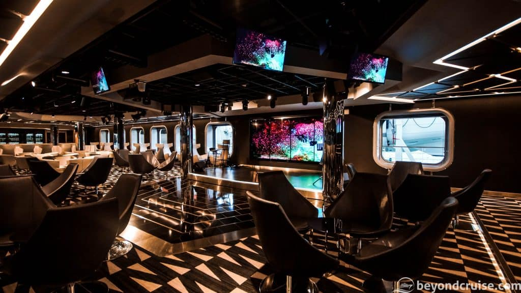 MSC Meraviglia TV Studio and Bar