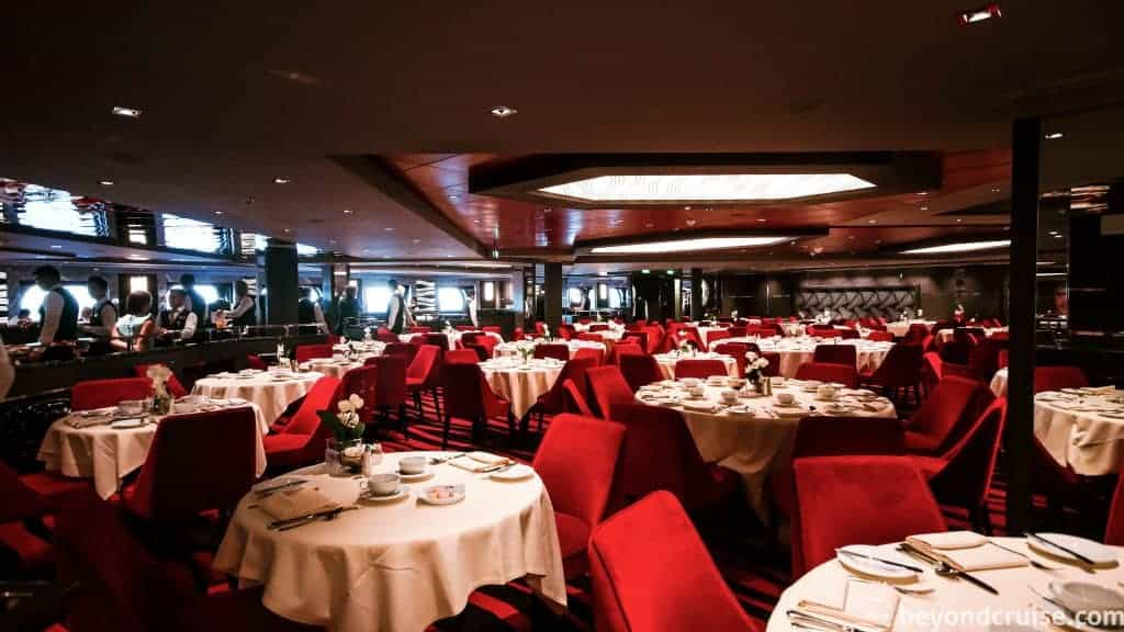 MSC Meraviglia Waves Restaurant