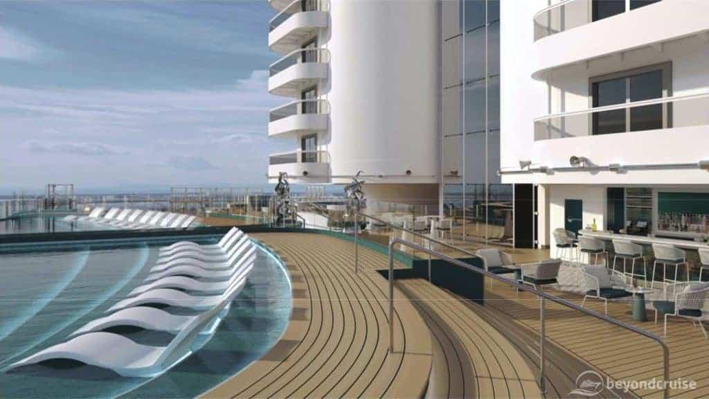 MSC Seashore Infinity Pool preview
