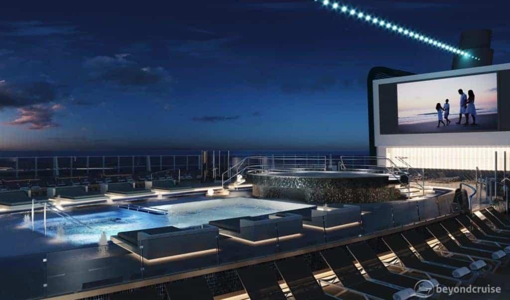 MSC Seashore Main Pool preview