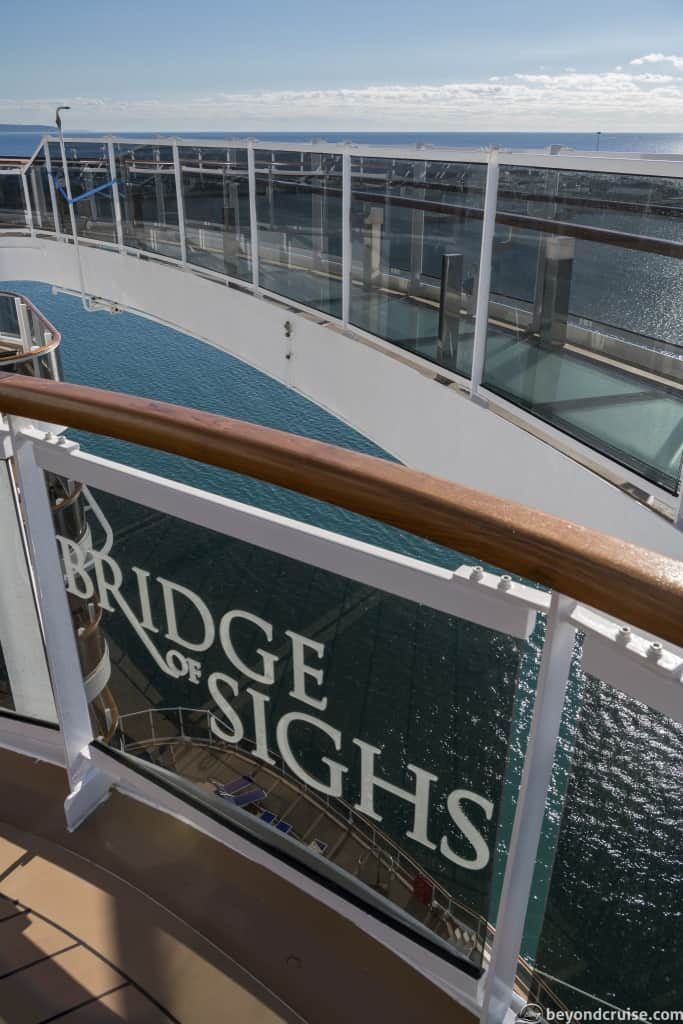 MSC Seaview Bridge of Sighs