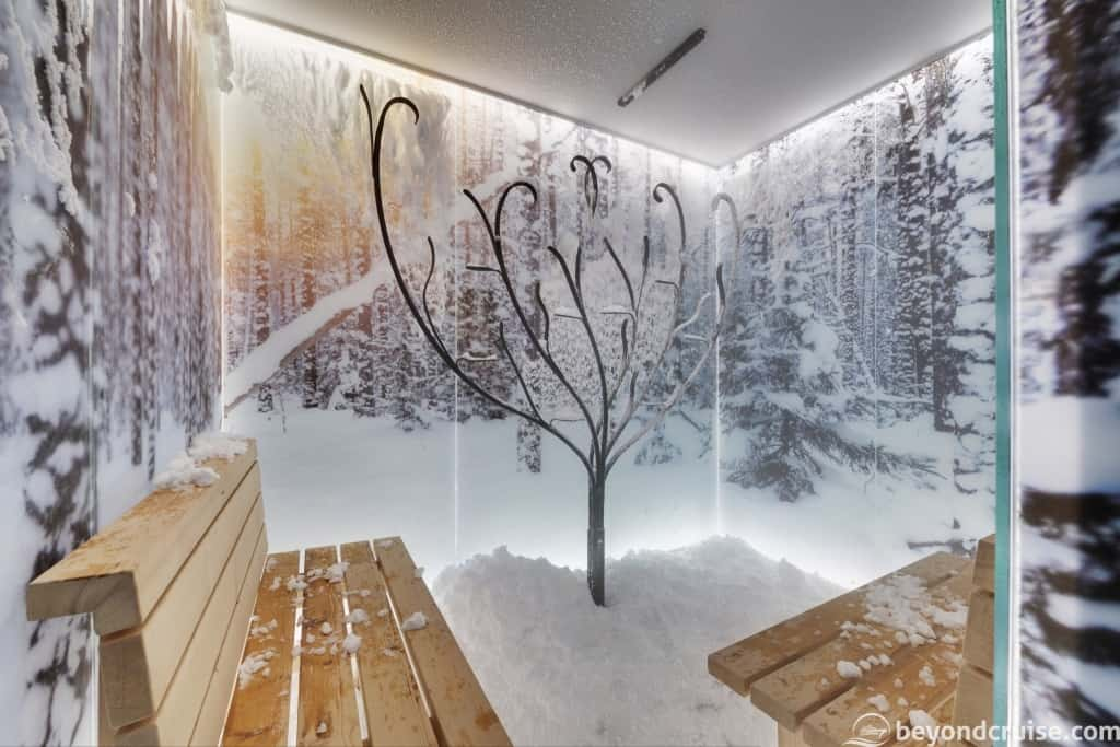 MSC Seaview MSC Aurea Spa Snow Room