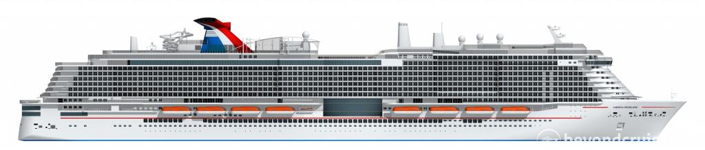 New Carnival Ship due 2020
