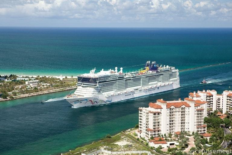 Norwegian Cruise Line webcams