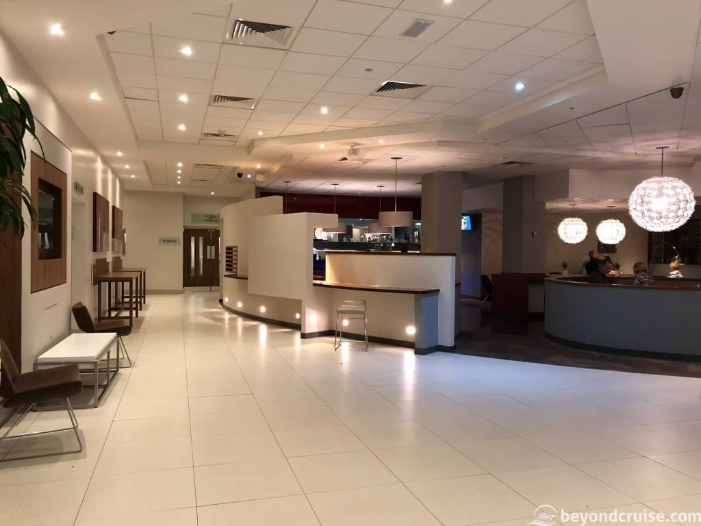 Novotel Southampton Reception area