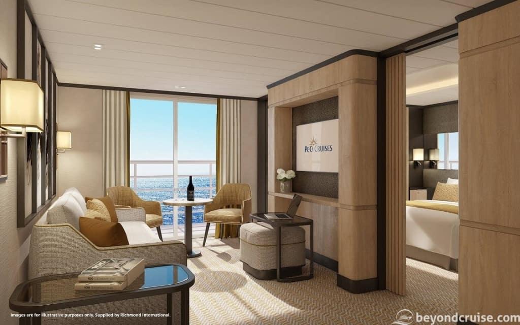 Aft Suite Lounge, P&O Iona