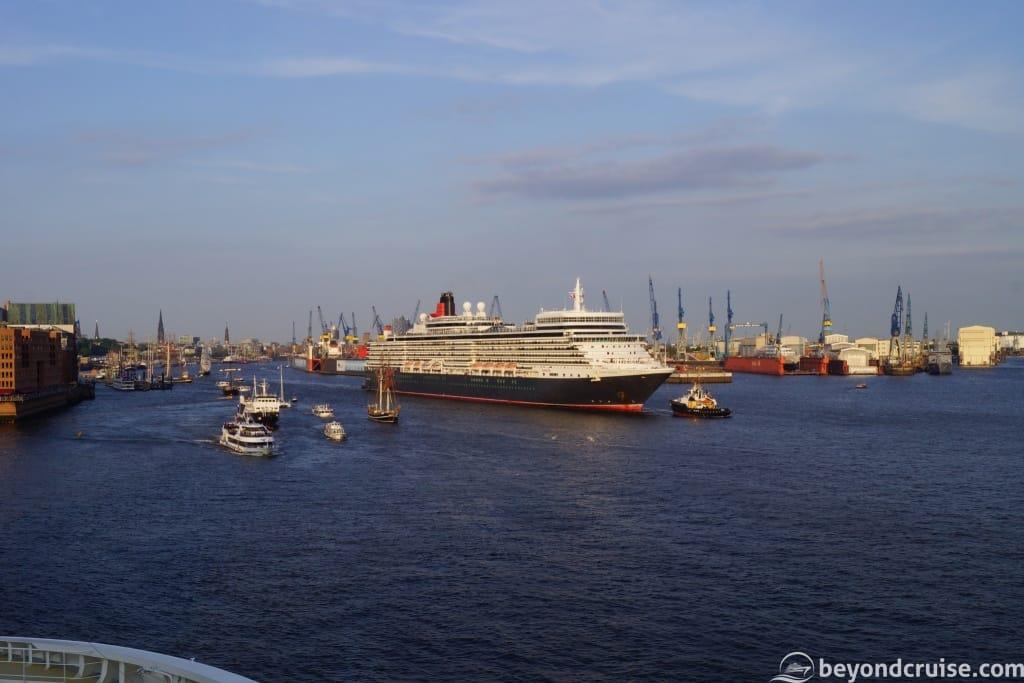 Port of Hamburg 829th Anniversary with Queen Elizabeth