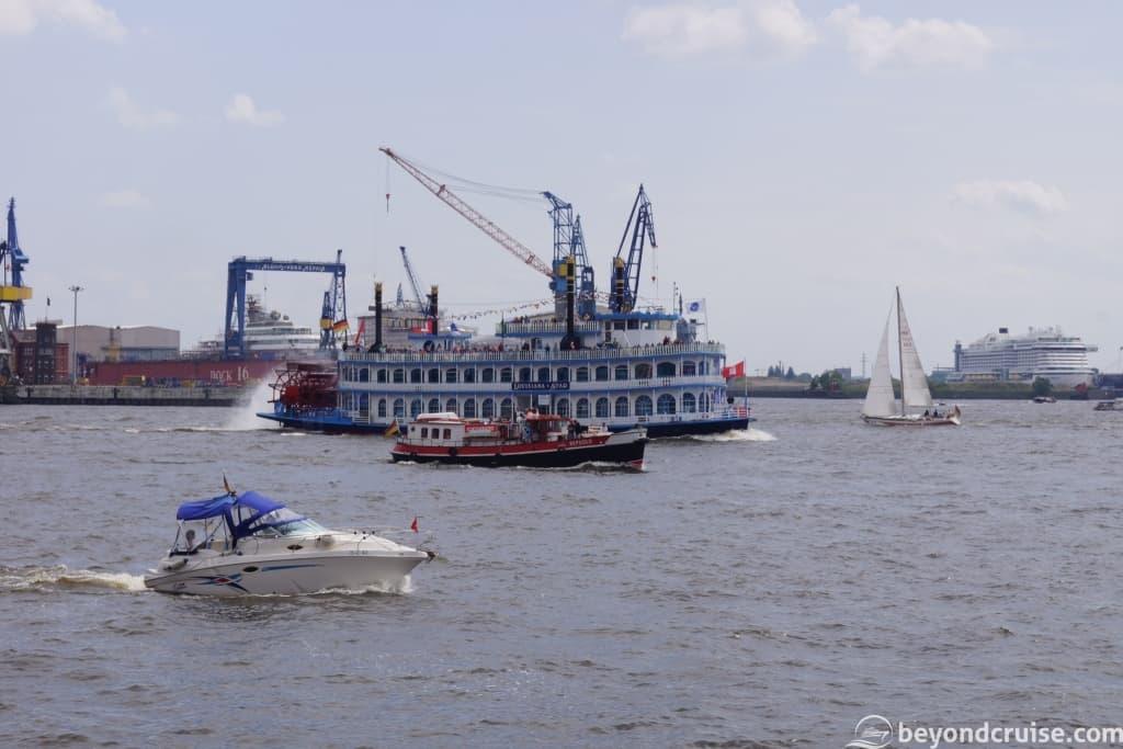 Port of Hamburg 829th Anniversary ships