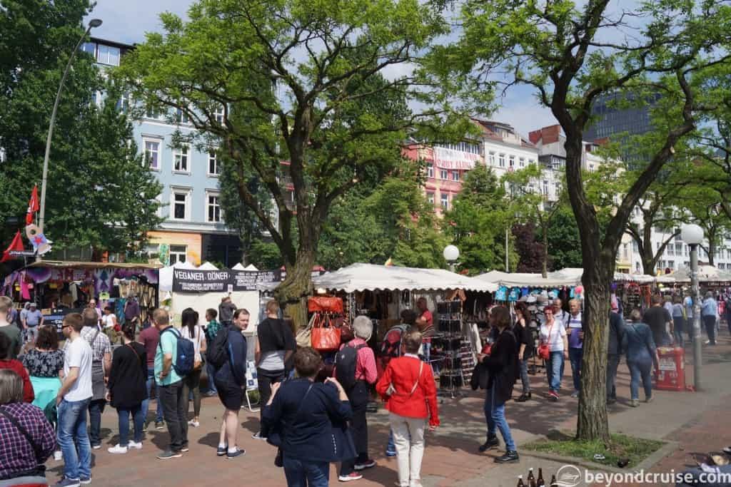 Port of Hamburg 829th Anniversary street market