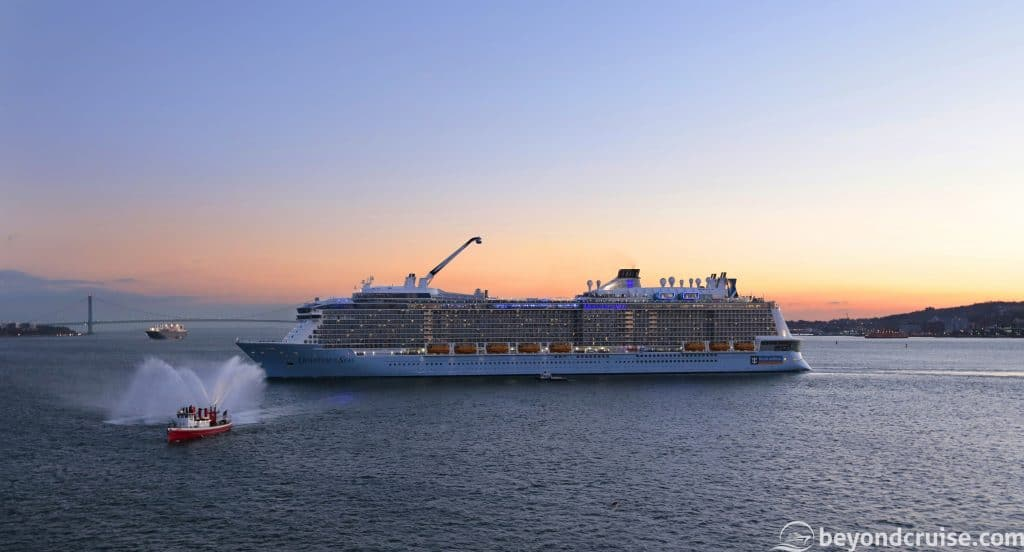 Quantum of the Seas inaugural voyage