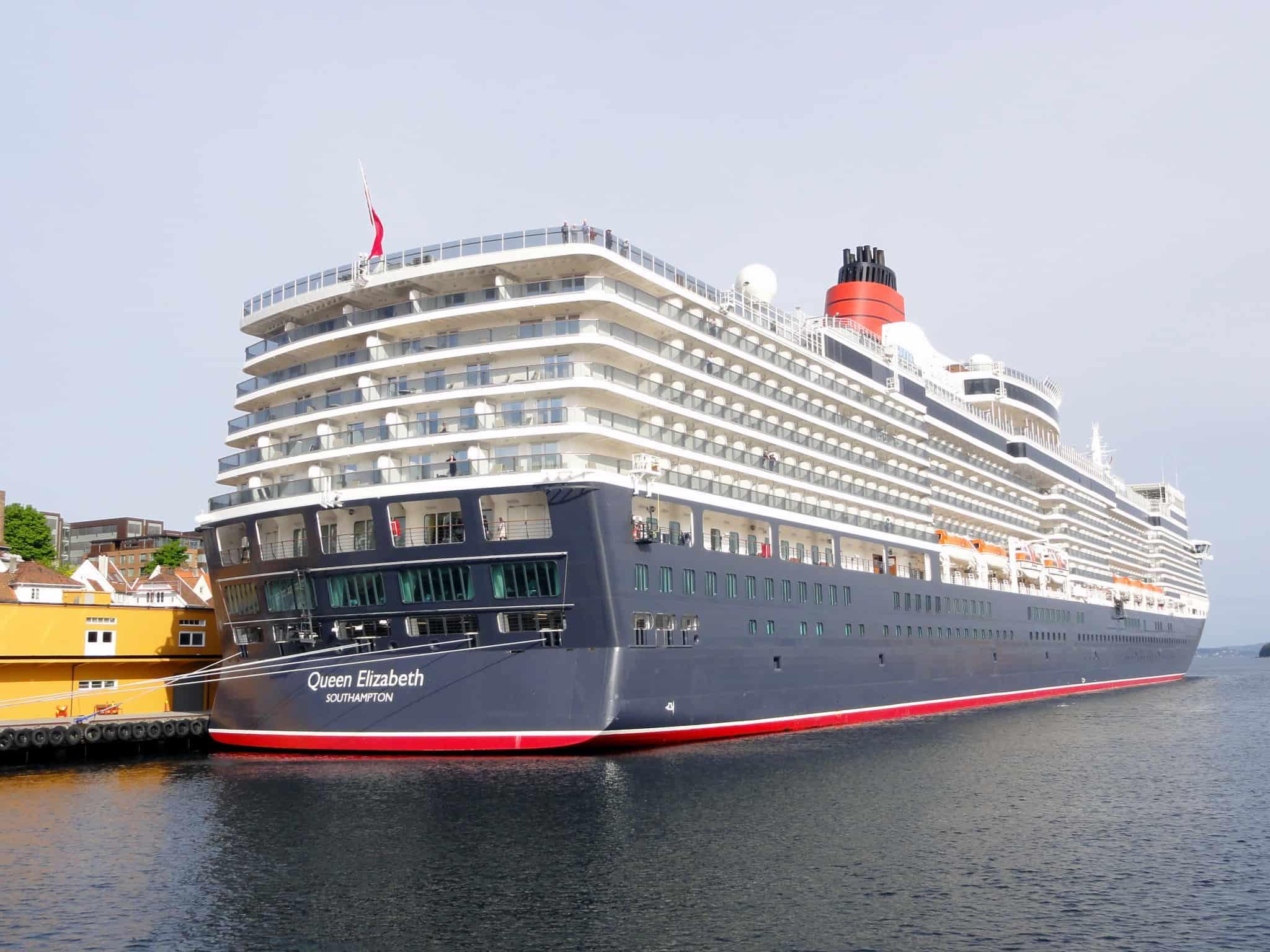 Queen Elizabeth in Stavanger