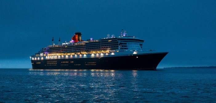 Queen Mary 2 on her Cunard World Voyage 2017