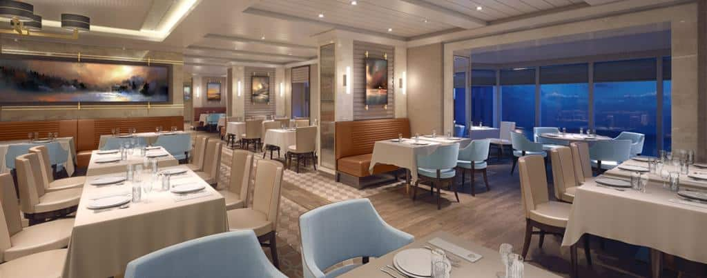 Queen Mary 2 Remastered: Kings Court seating