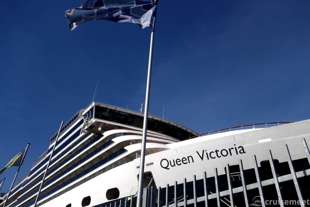Queen Victoria bridge view at Queen's Wharf, Auckland, New Zealand