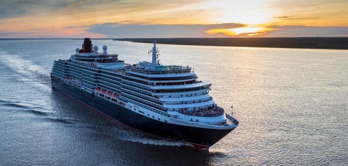 Queen Victoria on her Cunard World Voyage 2017