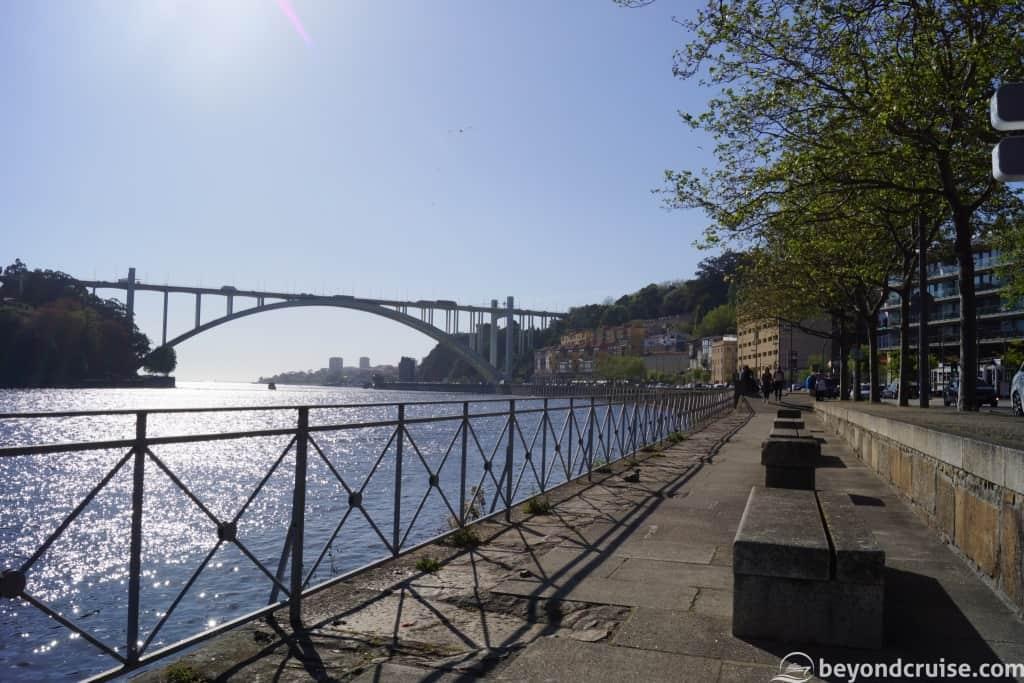 River Douro and ArraBida Bridge