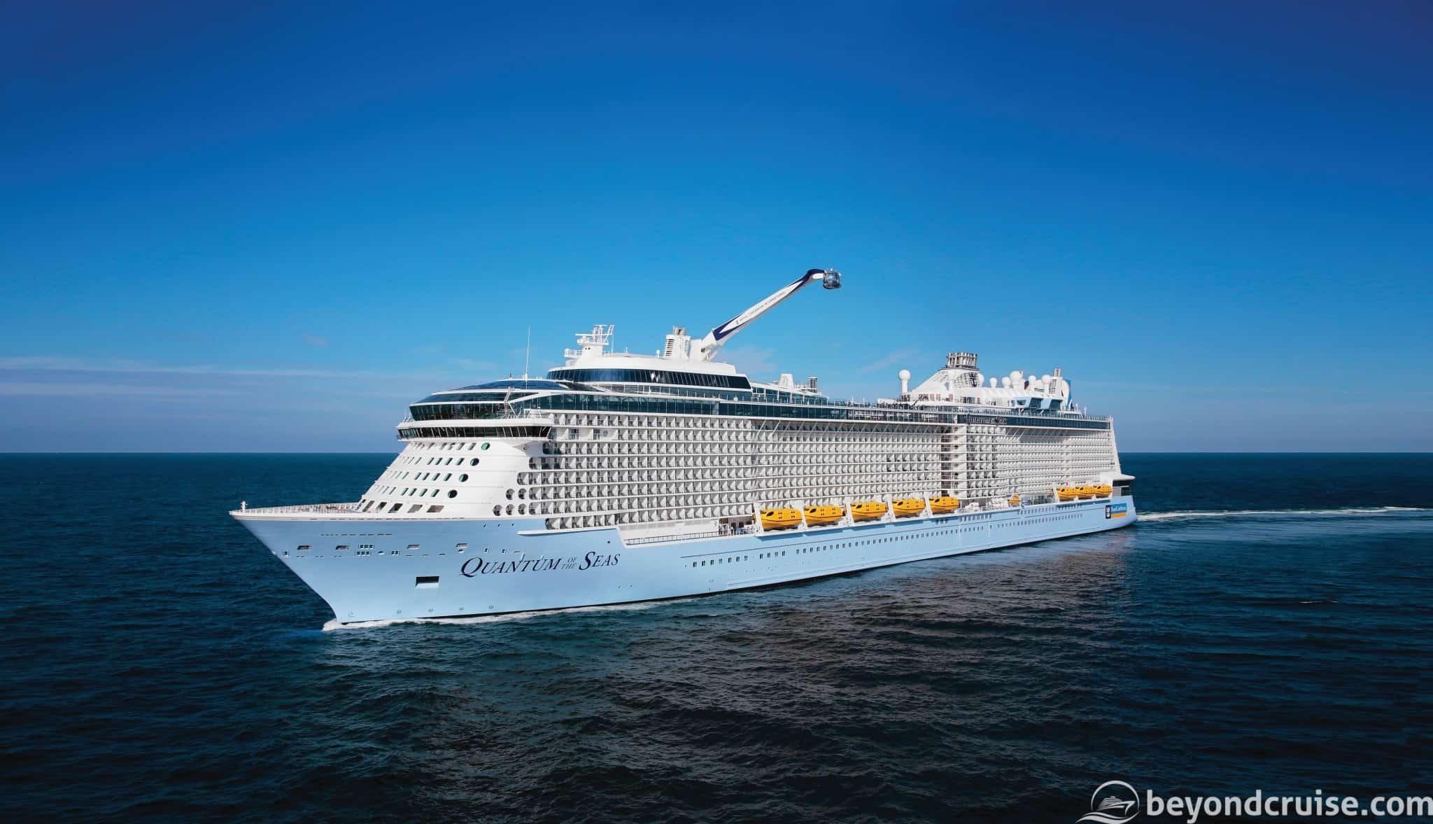 Royal Caribbean - Quantum of the Seas at sea