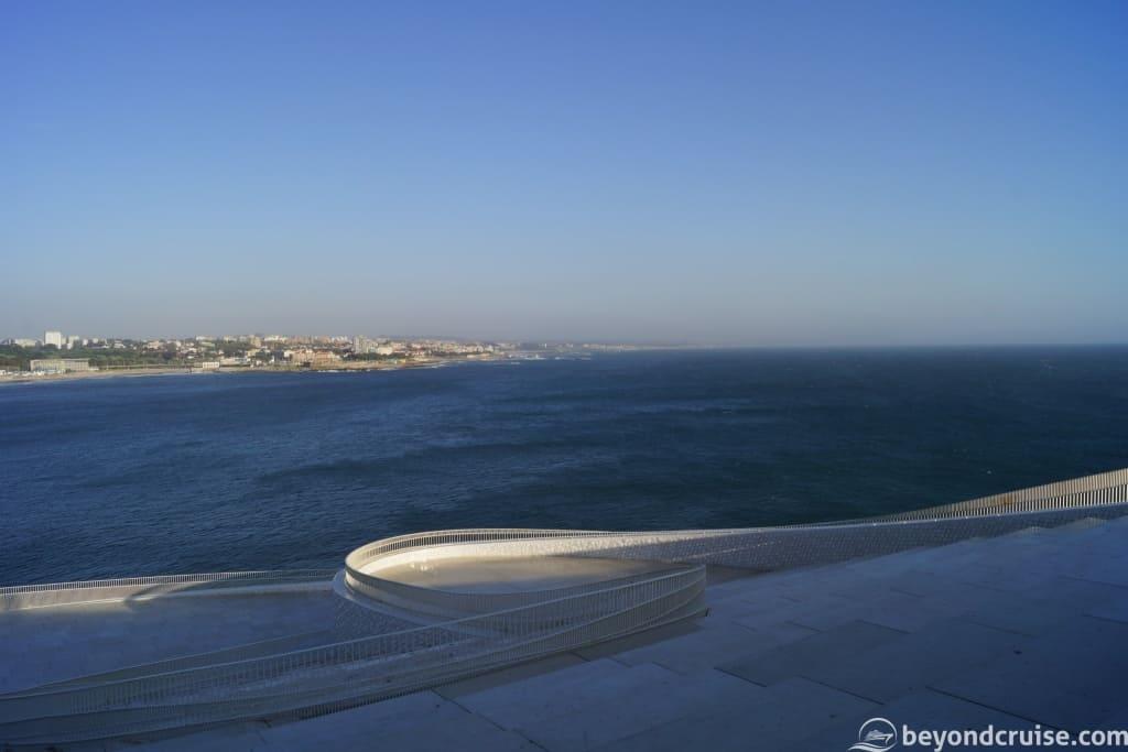 View of Matosinhos from Porto Cruise Terminal